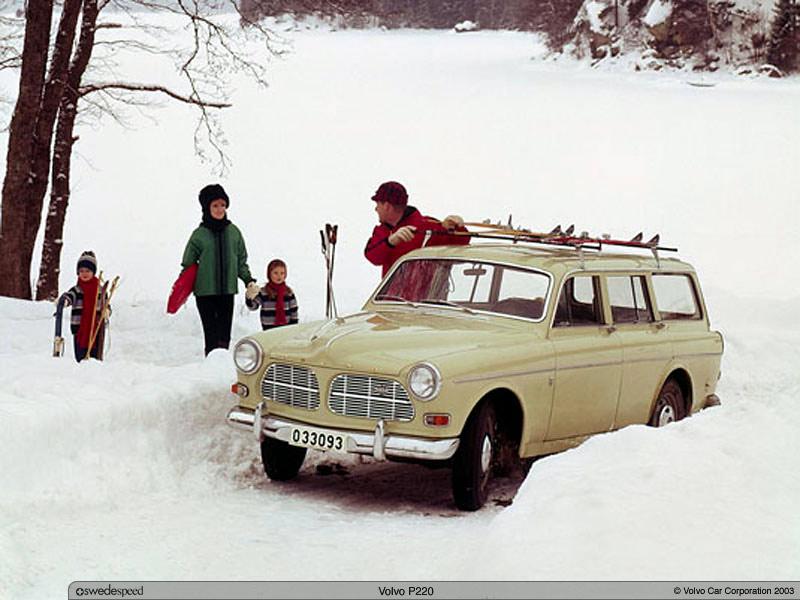 1962 Volvo 220 3