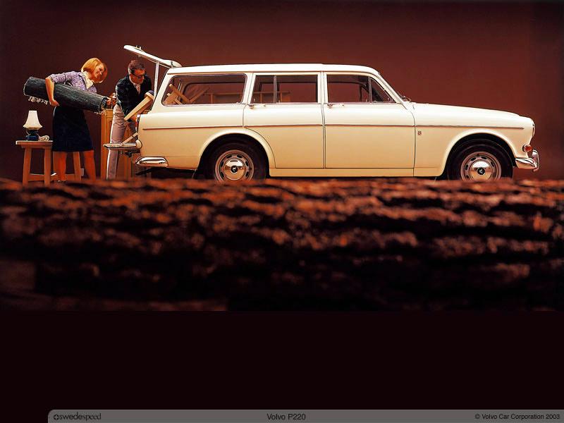 1962 Volvo 220 4