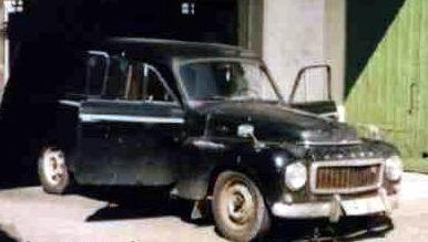 1962 volvo P21 114 2