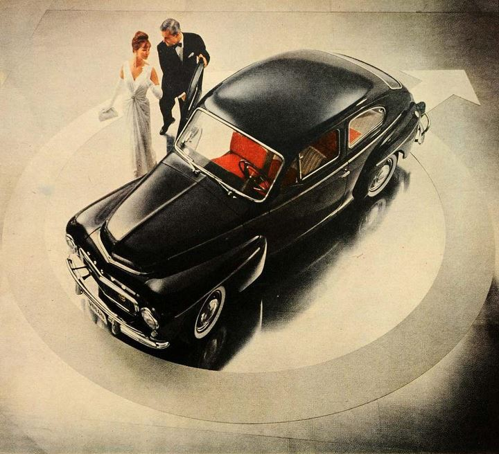 1962 Volvo PV544 Katterug