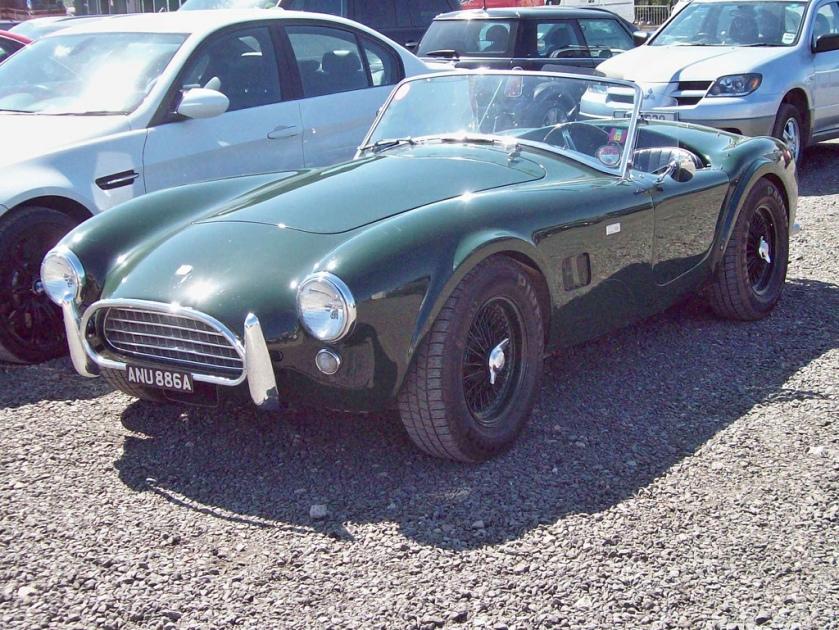 1963 AC Cobra 289 Engine 4727cc V8