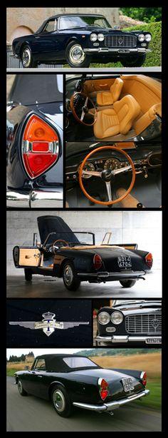 1963 Lancia Flaminia Touring Convertibile
