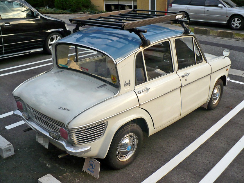 1963 Mazda Carol360 rearview