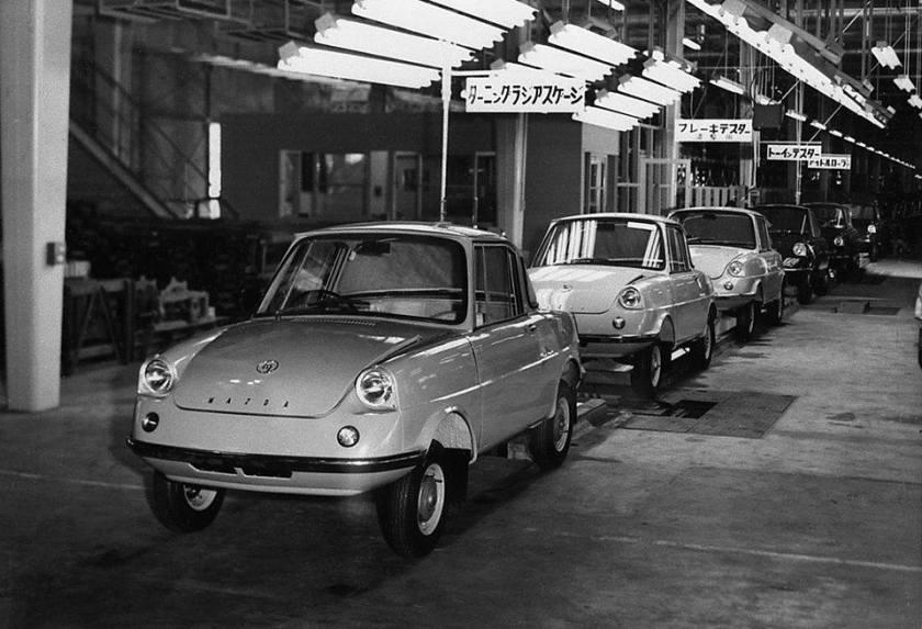 1963 Mazda factory