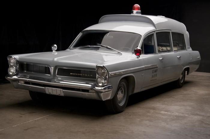 1963 Pontiac Superior Bonneville Air Force Hearse