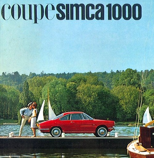 1963 Simca  1000 coupe