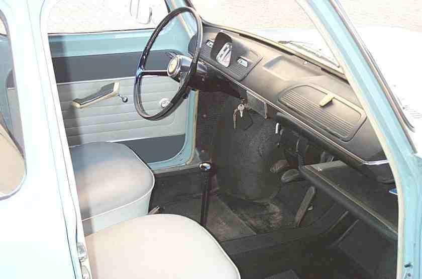 1963 Simca 1000 - interior