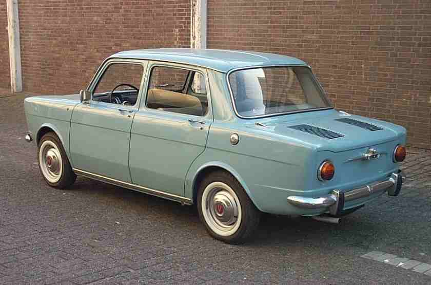1963 Simca 1000 - rear view