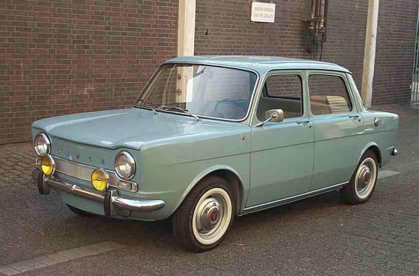 1963 Simca 1000
