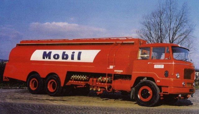 1963 UNIC Estérel MZ 124 en 26 tonnes, 6cyl, 200cv