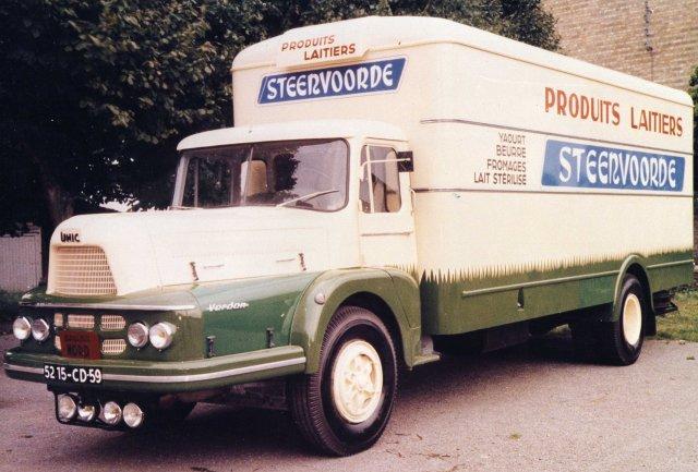1963 Unic Verdon, toujours chez STEENVOORDE