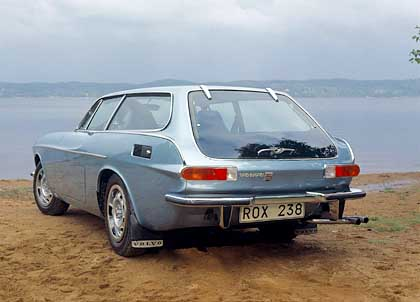 Ein paar Fenster für die Ewigkeit: Volvos Schneewittchensarg P1800 ES