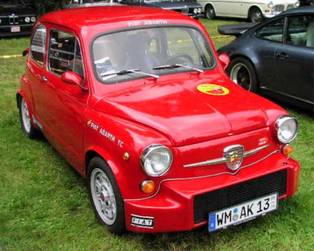 1964 Abarth Fiat 850