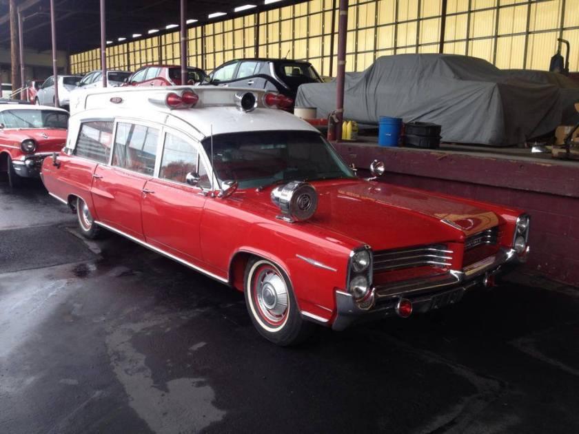 1964 Pontiac ambulance in Newcastle Australia