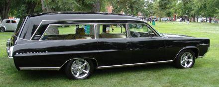 1964 Pontiac Bonneville Consort Hearse