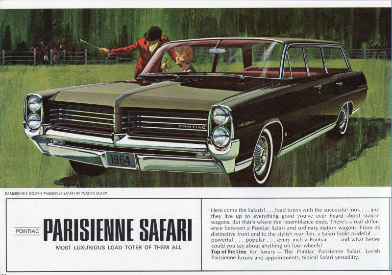 1964 Pontiac Parisienne Safari
