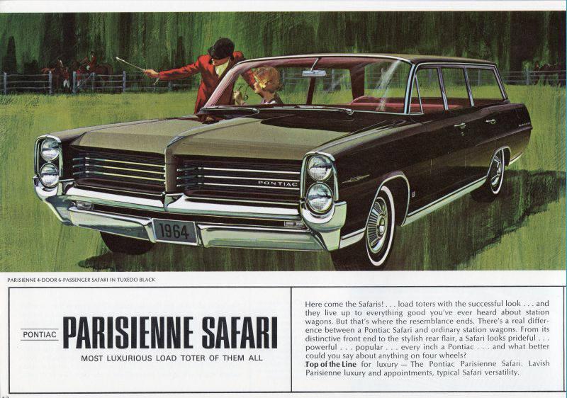 1964 Pontiac Parisienne Safari