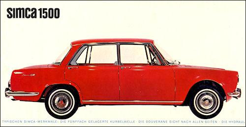 1964 Simca 1964 1500-63