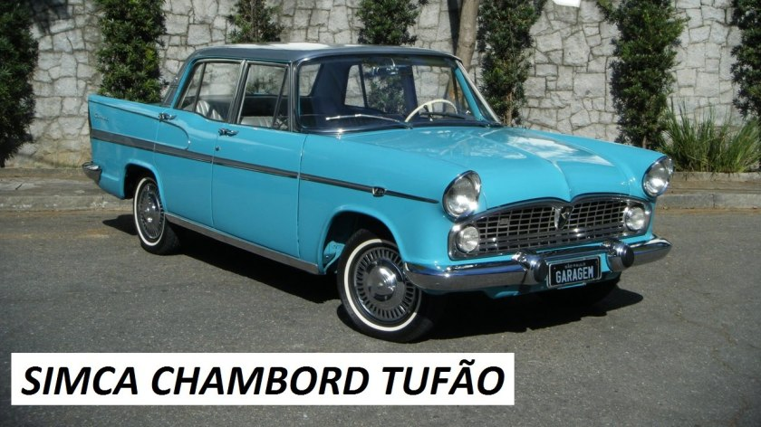 1964 Simca Chambord (Tufão)