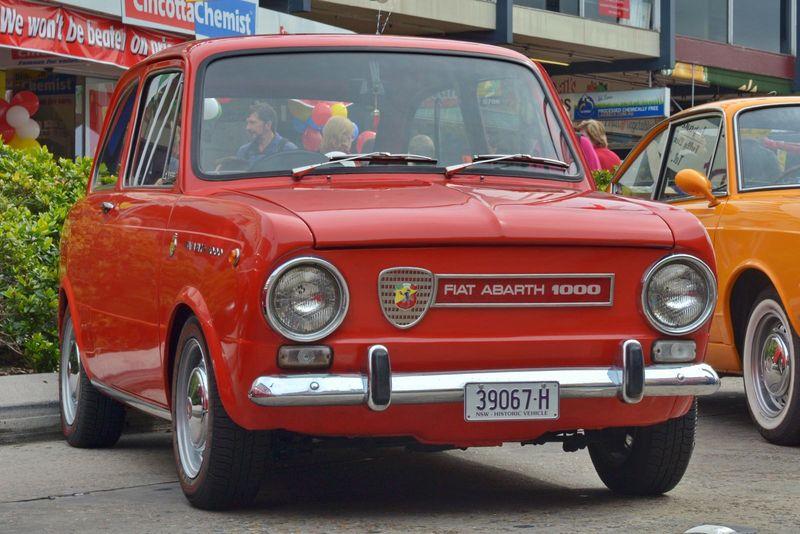 1965 Fiat 850 Abarth