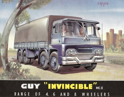 1965 Guy Invincible MK II 4-6-8-wheelers