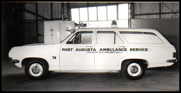 1965 HD Holden Ambulance