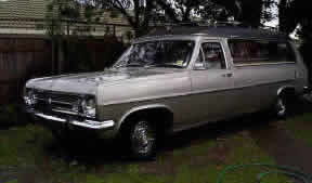 1965 holden hr-hearse-silver