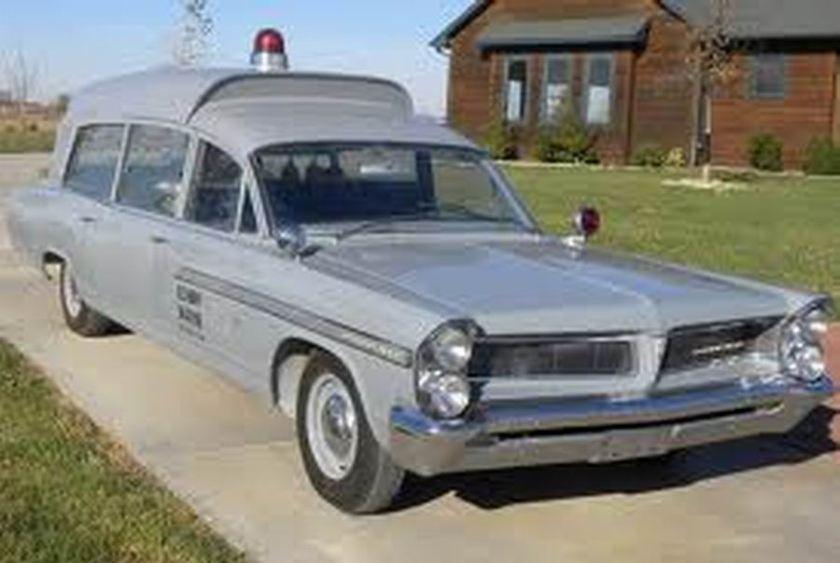 1965 Pontiac Bonneville Ambulance John F Kennedy