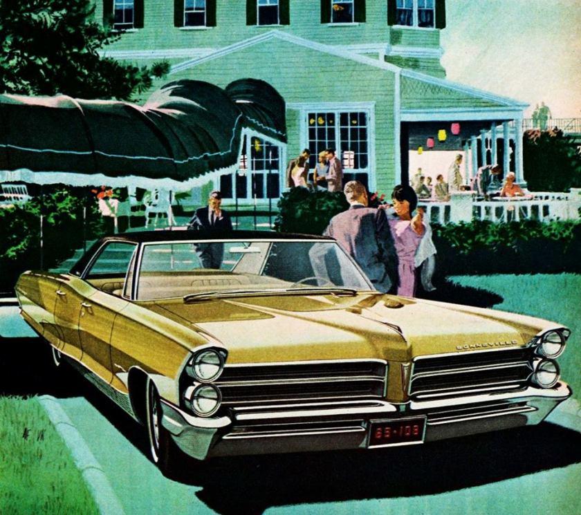 1965 Pontiac Bonneville Vista Hardtop