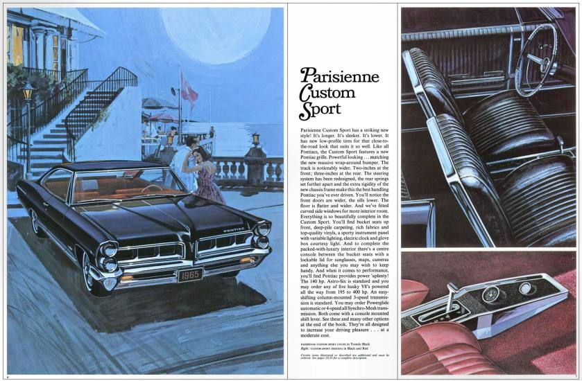 1965 Pontiac Parisienne Custom Sport