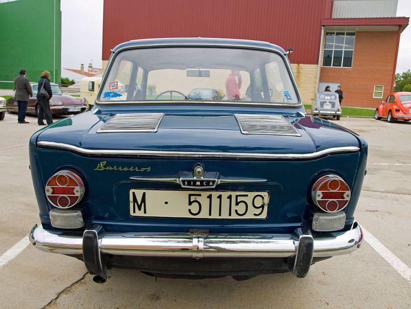 1966-1968 Simca 1000 by Barreiros