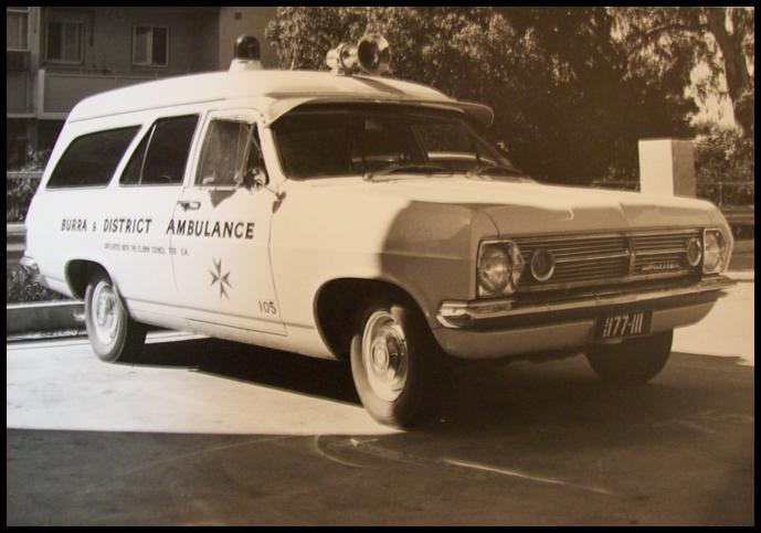 1966 HR Holden Ambulance
