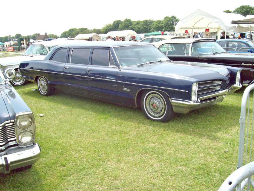 1966 Pontiac  Catalina Limousine 389 Ci engine conversion probably by the Superior Coach of Lima