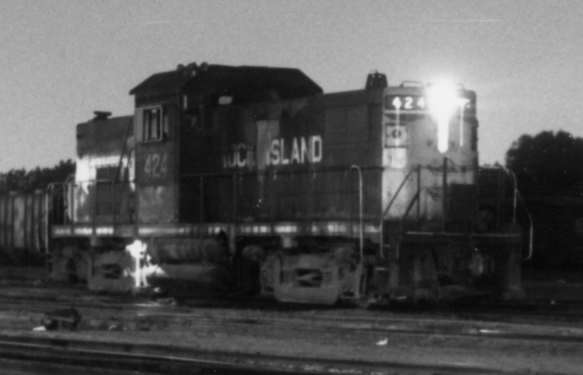 1966 RI 424, Alco Century 415 Locomotive