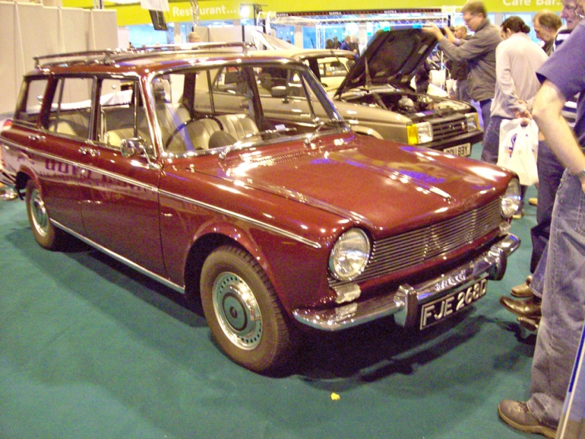 1966 Simca 1500 Estate Engine 1475cc S4 OHV
