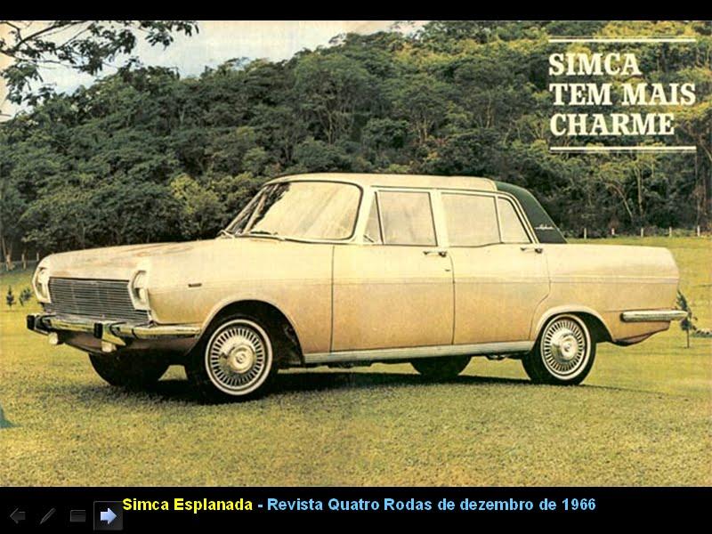 1966 Simca Esplanada Chico Santoro