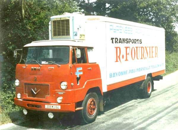 1966 UNIC Izoard 8 cyl en V de 270 ch des Transports Fournier de Pau 64