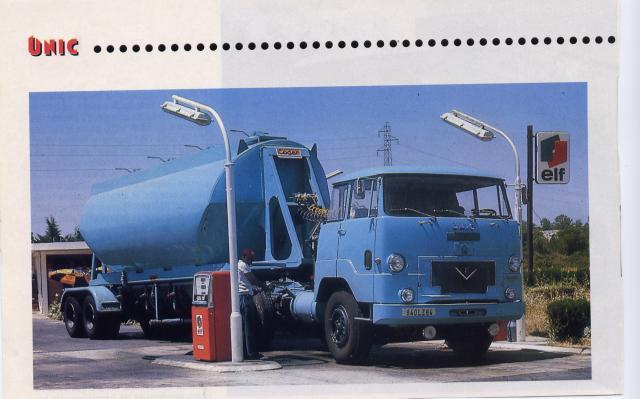 1966 Unic V8 avec cabine Geneve