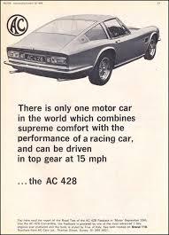 1967 Frua AC 428 Coupe ad