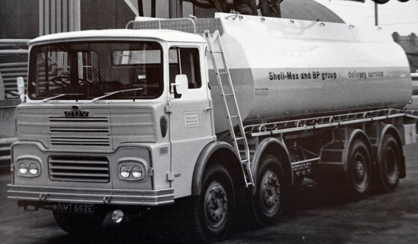1967 Guy Big J Shell Tanker