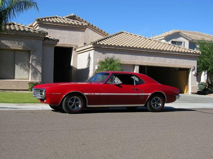 1967 Pontiac Firebird 326 V-8 HO