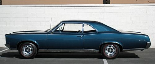 1967 Pontiac GTO 2-Door Post 2-Door Sedan
