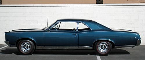 1967 Pontiac GTO 2-Door Post 2-Door Sedan