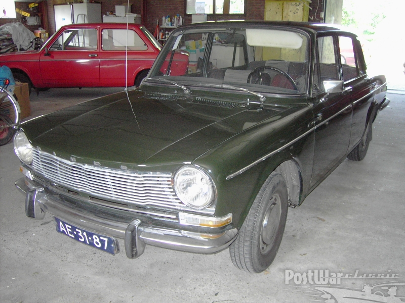 1967 Simca 1301 sedan 4 door