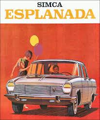 1967 Simca Esplanada ad