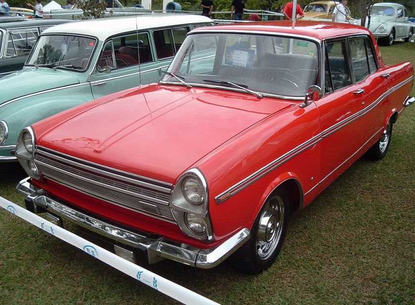 1968-69 Simca Facelifted Esplanada