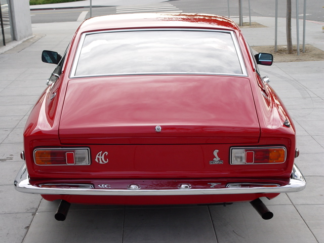 1968 AC Frua coupé, rear