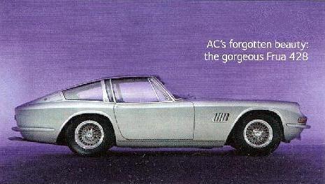 1968 AC's 428 Grand Tourer