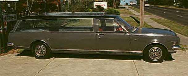 1968 Holden Premier hearse