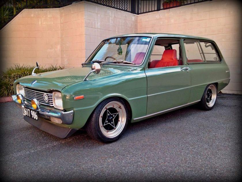 1968 Mazda 1200 wagon